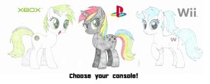 Choose Your Console! by mzx-90