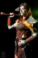 Aela The Huntress - Skyrim 5 by BlueNathmll