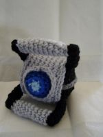 Crocheted Wheatley Plushie by Taikxo