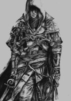 Assassin's Creed IV Black Flag: Edward Kenway by PlanaRisu