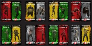 Left 4 Dead Valentines by Zeptozephyr