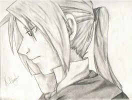 Edward Elric age 18 by ImmortalAlchemist
