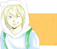 Finn the Human by 8DarkAngel8