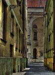 narrow street by HeretyczkaA