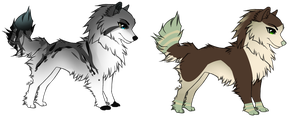 Canine Adopts -Open- *Name Your Price* by Llamadopts
