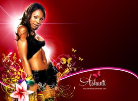 Ashanti wallpaper by owdesigns