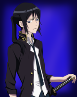 Yatogami Kuroh - K , by me by InMoeView