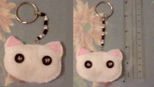Felt Kitty Key-Chain! by SNlCKERS