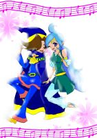 LoZ:OoA: Ralph X Nayru- I'll Sing With You by supersmashgirl-ky