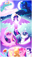 Behold Princess Twilight Sparkle by Miniyuna