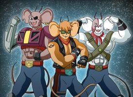 Biker Mice From Mars by sinner18th