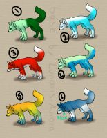 Wolf adopts ~CLOSED~ by RippedMoon