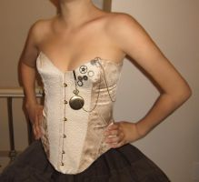 Clock Punk Corset by april8th