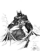 Batman by mistermoster