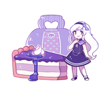 Com ST: Rainue- Mulberry jam cheesecake by ieafy
