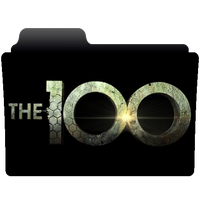 The 100 folder icon by NonStopSarah