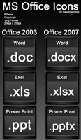 MS Office Iconpack by Megatroenchen