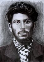 the young Stalin by KleopatraAurel