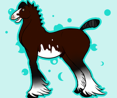 *MatrixPotato's Gypsy Vanner Entry by TechnoWolf9000