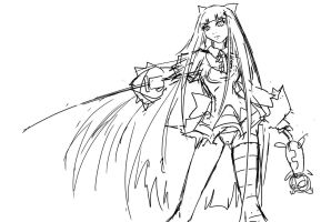 Stocking a5 by Agacross