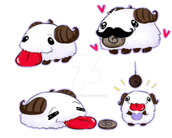 -Little Cute Poro- by Mikoto-Mitsui