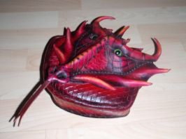 Dragoness Pouch by pepelpew