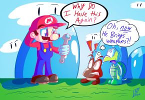 What's Mario's Profession Again? by Dante91