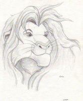 The Lion King Simba by InuHanyou