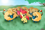 Apple Bloom Shepherd by WillDrawForFood1