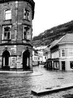 The streets of Bergen by KnockStock