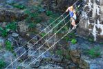 Crossing Ausable Chasm by peterkopher