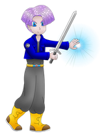 Trunks (Dragon Ball Z) transparent by MikariStar