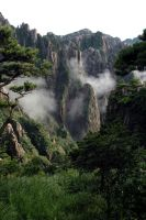 Yellow mountains by morningmonkey