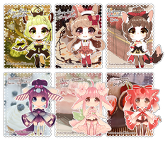 ::Dessert Kemonomimi:: SET PRICE* CLOSED by Hinausa