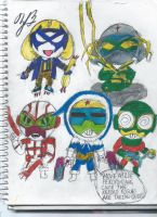 The Keroro Rogues by GoroKai