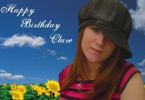 Happy Birthday Clare by lostpuppy44