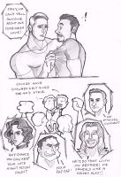 Tony x Steve Avengers - Unnecessary Secrets by puking-mama