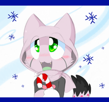 Meowy Christmas from the Invaduh by SmilehKitteh