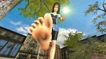 (RP) (.......) is squished under Rinoa's bare foot by KujiKuMo