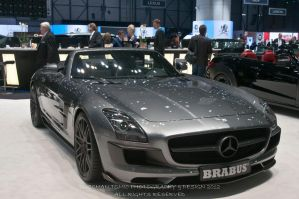 MERCEDES SLS CONVERTIBLE BY BRABUS by DuschanTomic