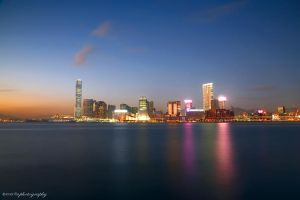 Victoria Harbour by evenliu