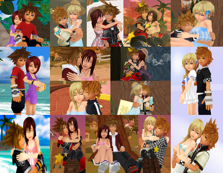 Kingdom Hearts Chained Promises Forever by 9029561