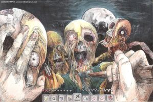 Minecraft Zombies by CAMERON1395