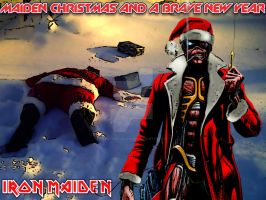 Maiden Christmas by croatian-crusader