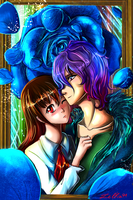 Painted love (gift) by zelka94