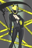 Celty Sturluson by Madcatstudios