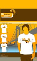 Retro Ride T-Shirt Design by atobgraphics