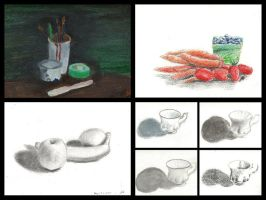 Still Life Practice by Jessica500