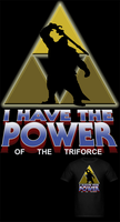 LOZ I Have The Power Of The Trifroce T Shirt by Enlightenup23