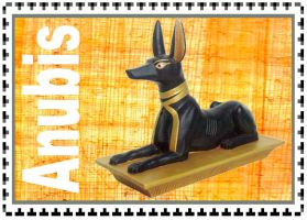 Anubis Stamp by Ahkilah